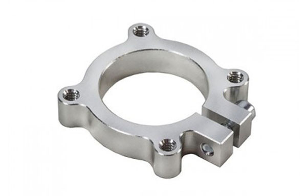"ACTOBOTICS 25mm Bore, Face Tapped Clamping Hub, 1.50"" Pattern"