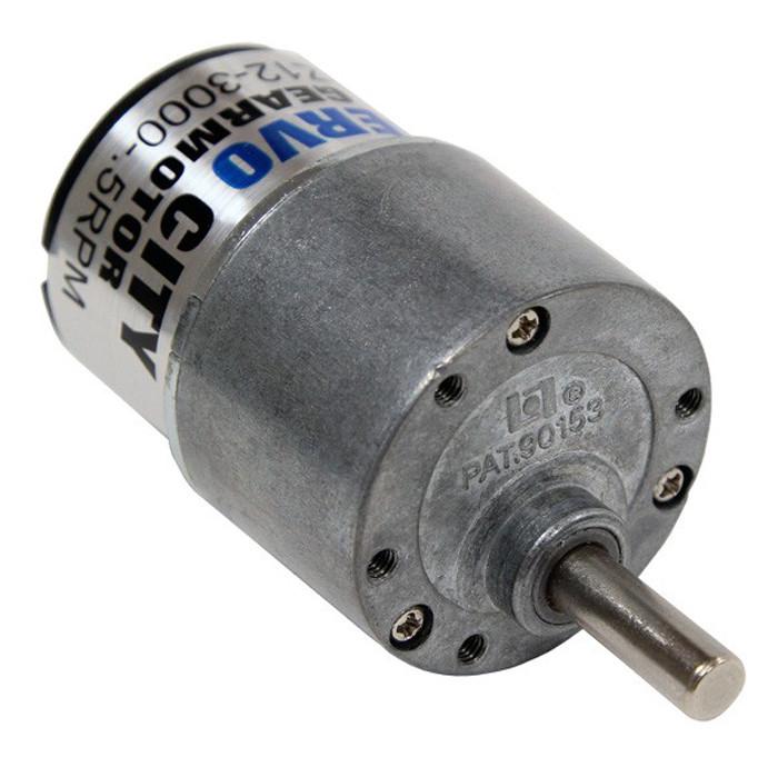 ACTOBOTICS 101 RPM Gear Motor