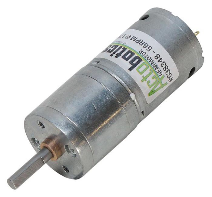 ACTOBOTICS 56 RPM Economy Gear Motor