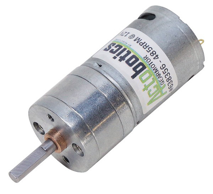 ACTOBOTICS 485 RPM Economy Gear Motor