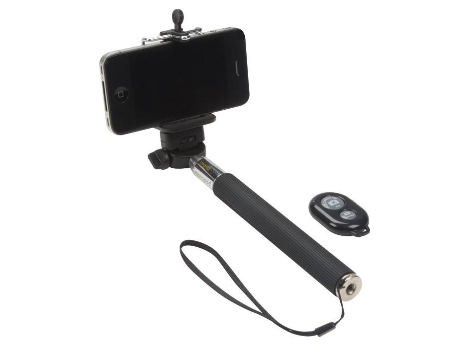 VELLEMAN Selfie Stick with Wireless Remote Control Shutter Button