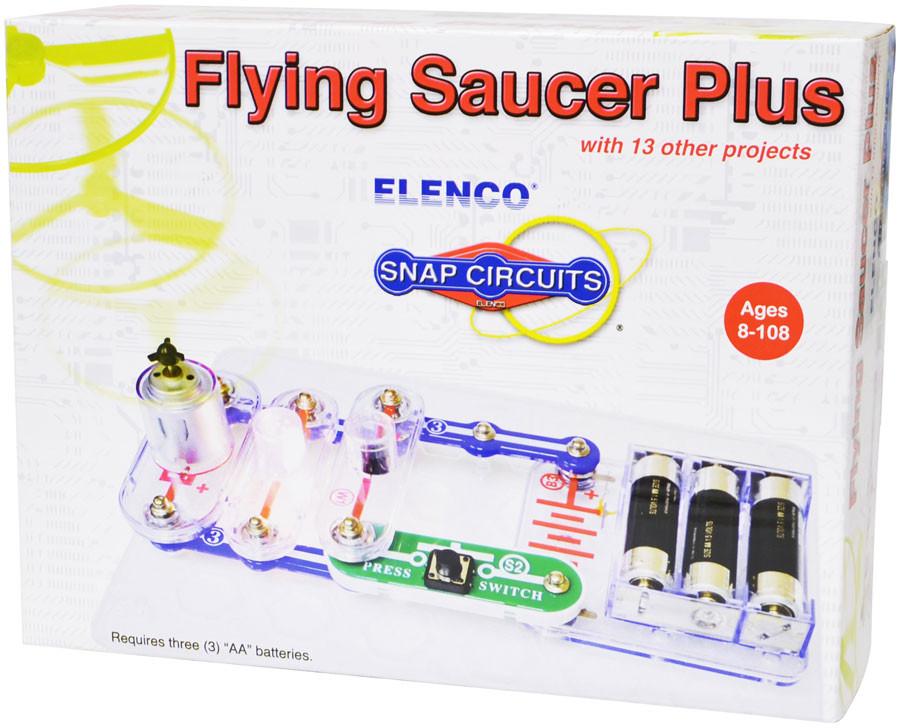 ELENCO Snap Circuits Flying Saucer Plus