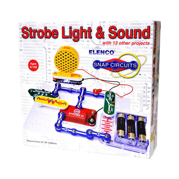 ELENCO Snap Circuits Strobe Light and Sound