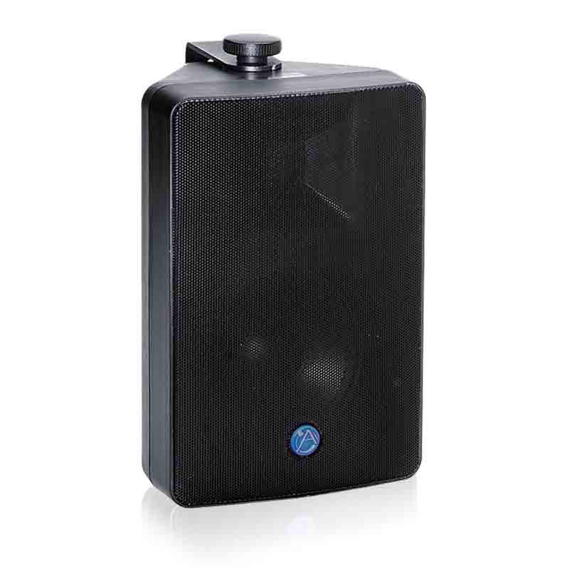 "ATLAS 5.25"" 2-Way All Weather 70V/100V Speaker Pair Black"