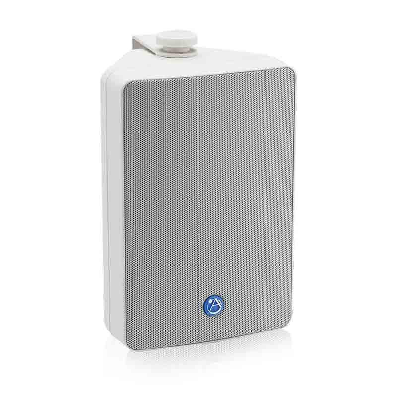 """ATLAS 5.25"""" 2-Way All Weather 70V/100V Speaker Pair White"""