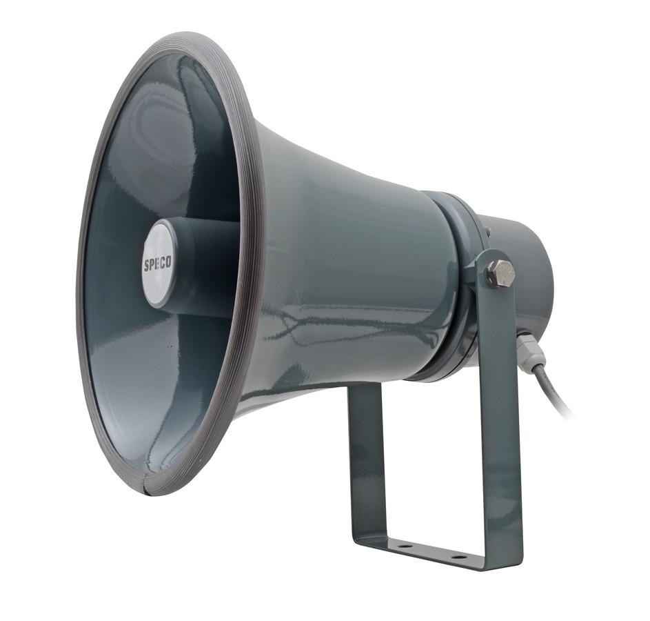 "SPECO 8.5"" Weather-Resistant Aluminum PA Horn"