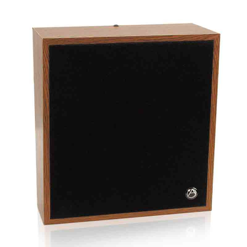 """ATLAS 8"""" Slant Wall Mount Speaker Package with 25/70.7V-4W Transformer with Volume Control"""