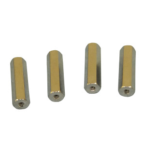 "PHILMORE 4-40 .25"" long Spacers 8pk"