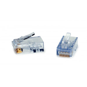 PLATINUM ezEX44 RJ-45 Crimp Connectors 50-pack
