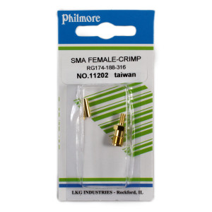 PHILMORE SMA Female Crimp Type Connector