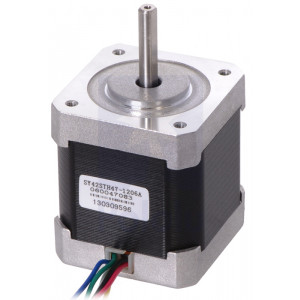 Stepper Motor: Unipolar/Bipolar, 200 Steps/Rev, 4248mm, 4V, 1.2 A/Phase