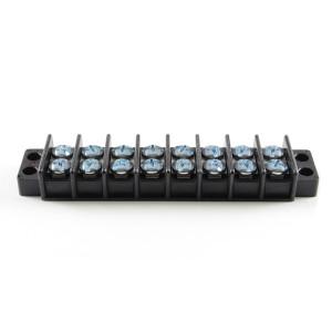PHILMORE Dual Row Terminal Blocks 8 Pole 30amp