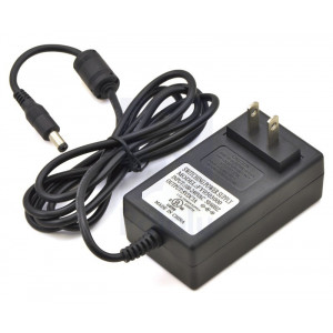 Wall Power Adapter: 5VDC, 3A, 5.52.1mm Barrel Jac