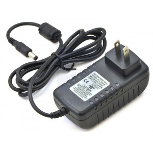 Wall Power Adapter: 12VDC, 3A, 5.52.1mm Barrel Ja