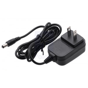 Wall Power Adapter: 5VDC, 1A, 5.52.1mm Barrel Jack, Center-Positive