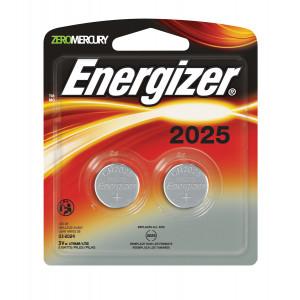 ENERGIZER Lithium 2025 3v Battery 2pk