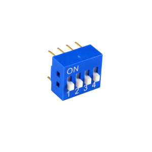 PHILMORE 4 Position Dip Switch