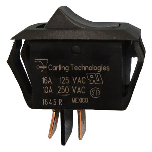 PHILMORE On-Off Snap-in Rocker Switch