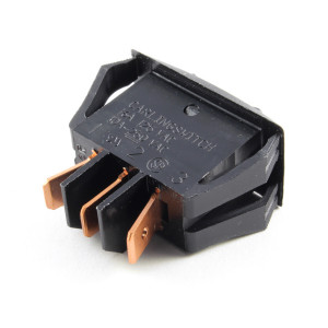PHILMORE On-Off-On Snap-in Rocker Switch