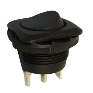PHILMORE Square Bezel Round Rocker Switch