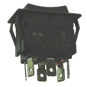 PHILMORE Heavy Duty Momentary Rocker Switch
