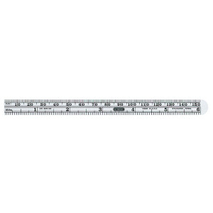 "GENERAL TOOLS Economy Precision 6"" Ruler"
