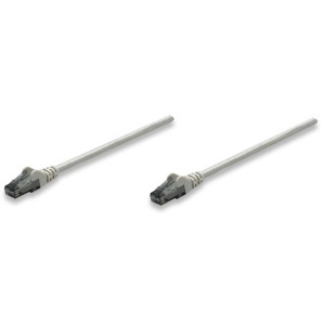 INTELLINET CAT6 Patch Cable 5ft Gray