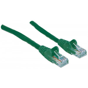 INTELLINET CAT6 Patch Cable 10ft Green