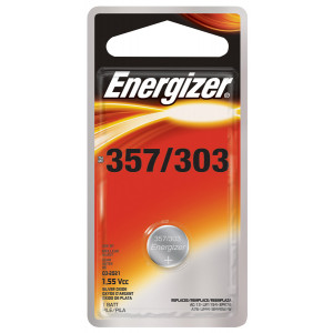 ENERGIZER 357 1.5v Watch Battery 3pk
