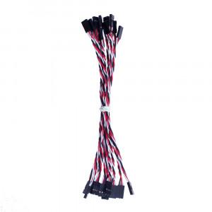OSEPP 3 Pin Jumper Cable 10pk