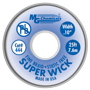 MG Chemicals Super Wick .1 #4 Blue 25ft
