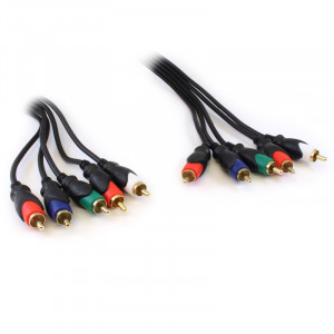 PHILMORE Component A/V RGB Cable 6ft
