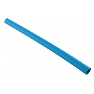"NTE Thin Wall Heat Shrink 1/2"" Blue 4ft"