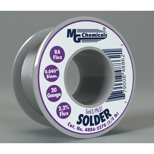 MG Chemicals Sn63 / Pb37 Leaded Solder .04