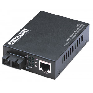 INTELLINET Gigabit Ethernet Media Converter