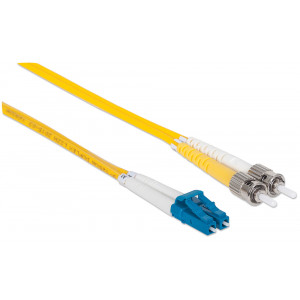 INTELLINET Fiber Optic Patch Cable 5m LC to ST