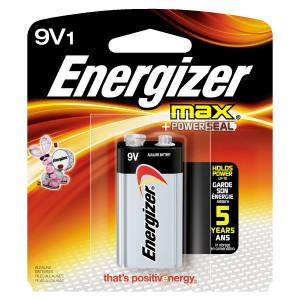ENERGIZER Alkaline Max 9v Battery