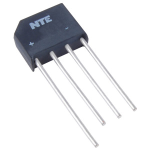 NTE Single Phase Bridge Rectifier 4A 200V