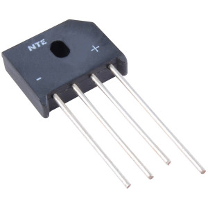 NTE Single Phase Bridge Rectifier 6A 600V
