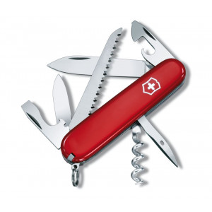SWISS ARMY Camper Swiss Army Knife Red