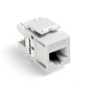 LEVITON Quickport CAT6 Jack White