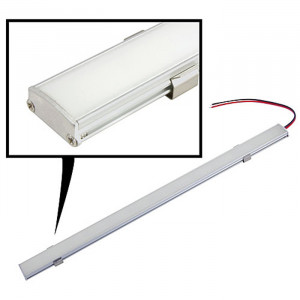 NTE 72 LED Light Bar White 12vdc 24.1""