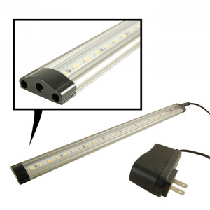 "NTE 63 LED Dimmable Light Bar 31.49"" White with Power Supply"