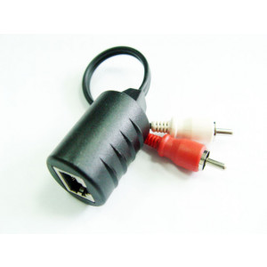 PHILMORE CAT5 to two RCA Male phone plugs