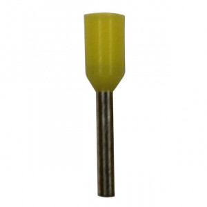 ECLIPSE Insulated Wire Ferrules 24awg Yellow 100pk