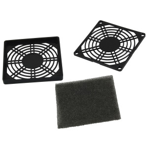 NTE 3 piece Fan Filter 80mm x 80mm