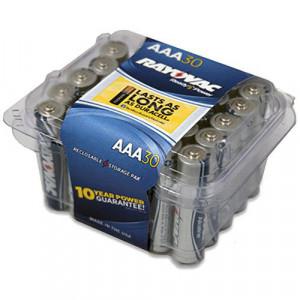 RAYOVAC Alkaline AAA Battery 30pk