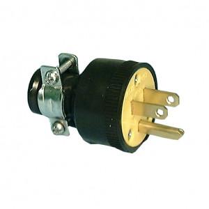 PHILMORE Rubber 3-wire AC Plug
