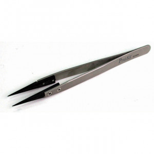 ECLIPSE ESD Safe-tipped Tweezers Pointed Tip