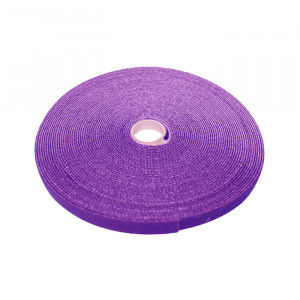 "ECLIPSE 3/4"" Wide Hook and Loop Tape Violet (50 ft)"